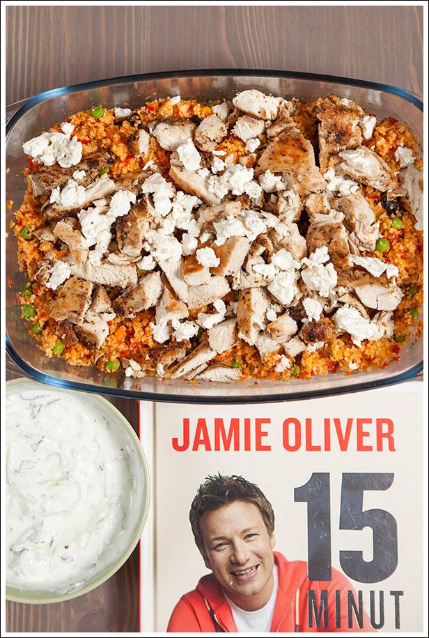 Jamie Oliver 15 Minut W Kuchni Kurczak Po Grecku