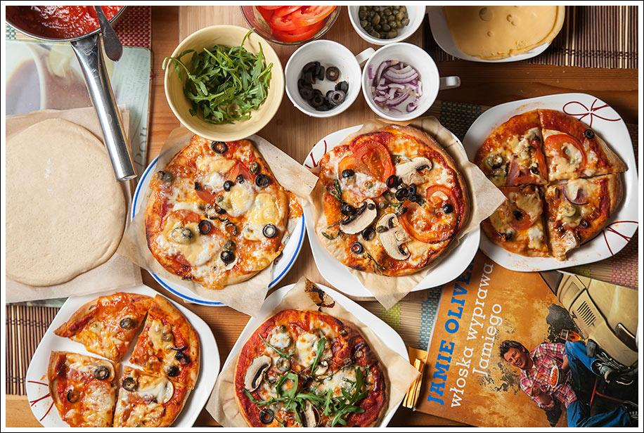 Jamie Oliver Włoska Wyprawa Jamiego Prawdziwa Włoska Pizza